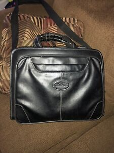 Bughatti Leather Laptop Bag Great Shape