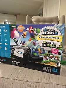 Nintendo Wii U w/ games and extras