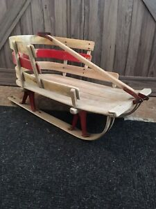 Antique toboggan