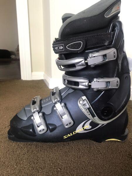 Salomon Crossmax 7 170cm ski with Salomon sensifit boot