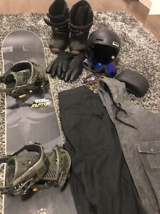 Snowboard setup and everything to go with it! AWESOME DEAL