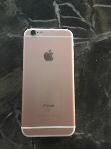 iPhone 6S, rose gold, 64GB, new screen, new battery