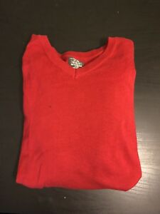 LOGG H&M red sweater