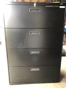 HON 4 Drawer Lateral Filing Cabinet $325 OBO