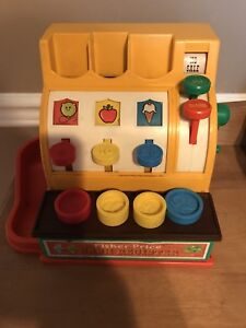 Lot jouets Fisher Price vintage