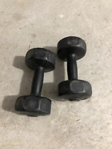 Dumbells 5lb Iron with Vinly Coating