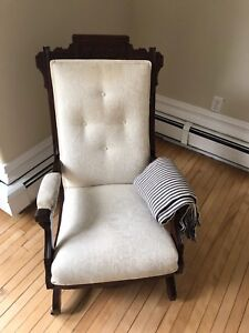 Beautiful Antique Rocking Chair - c. 1880 - $100 OBO