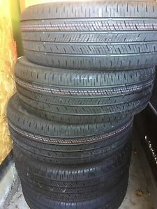 Set of Five Continental 215/55R18