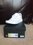 Adidas NMD triple white US10 DS Blackburn South Whitehorse Area Preview
