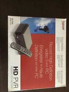 Hauppauge HD PVR - great for recording TV or Video Games