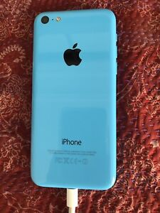 Blue iPhone 5c 8gb - no scratches, works great