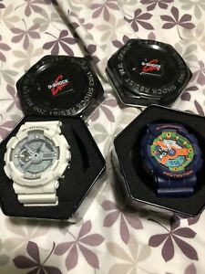 2 Authentic g shocks
