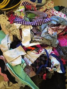 91 items of girls size 4-5 clothes