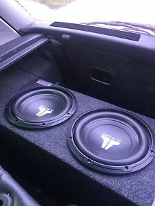 """Brand new -2 10"""" jl subs and box need gone"""