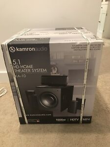 Home Theatre System  (New In Box MUST GO THIS WEEK)