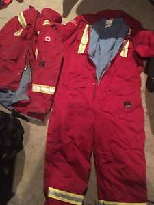 Parka and coveralls  *barely used*