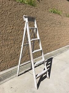 Rustic Display Ladder Mosman Mosman Area Preview