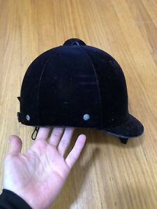 English riding helmet small
