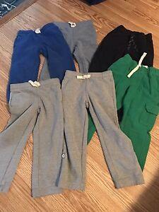 **6 pairs Gymboree size 4 pants**$30**