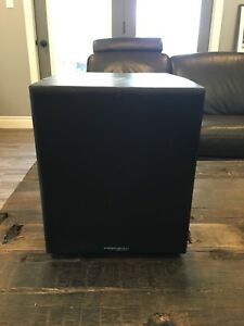 Powered subwoofer