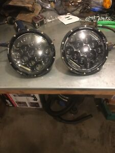 "7"" Jeep jk wrangler headlights"