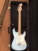 FENDER SQUIER Deluxe Stratocastor Daphny Blue Engadine Sutherland Area Preview