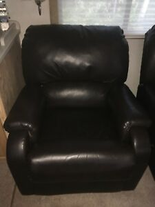 2 Leather recliner