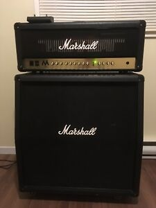 Marshall MA50H tube head and 412 cab