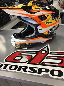 Shoei VFX-W blow out at 613 Motorsports