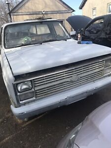1982 Chevy square body 2500