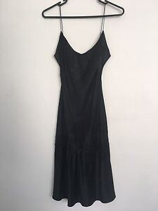Moving Sell - Collette Dinnigan Black Lace Silk Dress Bondi Eastern Suburbs Preview