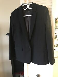 Banana Republic 6 Italian lightweight blazer jacket women's