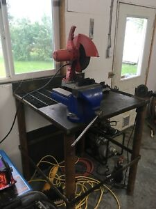 Welding/cutting table