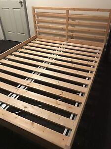 Queen Bed Frame 'IKEA Tarva' RRP $149 Bunbury Bunbury Area Preview