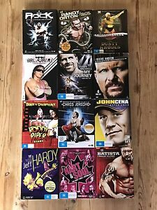 WWE DVDs (36 DVDs) Tullamarine Hume Area Preview