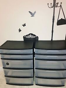 2  New drawer tower !!! 45$ both