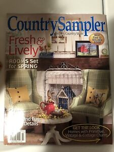 30 Country Sampler Magazines