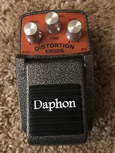 Daphon Distortion Pedal E2ODS *accepting trades*