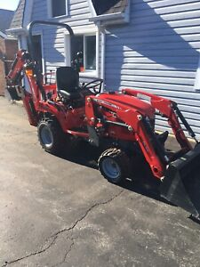 2017 Massey Ferguson GC1710 Tractor With Front End Loader!