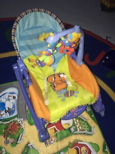 Fisher price newborn to toddler rocker/vibrating chair