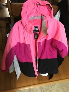 The North face girls winter jacket