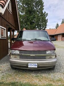 2001 Chevrolet Astro Van, Rear wheel Automatic