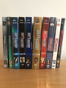 Greys Anatomy Seasons 1-10 DVD