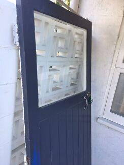 Entry door & 1920\u0027s leadlight door   Building Materials   Gumtree Australia ...