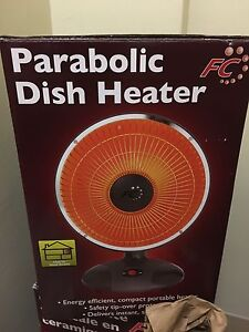 Parabolic dish heater for sale!