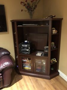 Corner TV Stand $110 OBO must sell
