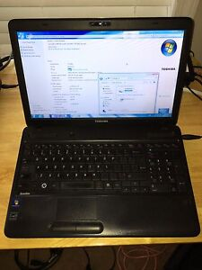 EUC Toshiba Satellite C650D052 Laptop with Solid State Drive