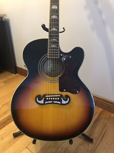 Epiphone EJ-200SCE electric acoustic