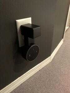 Echo Dot with Wall Mount