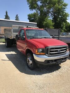 2001 Ford F550 - dump/roll off bin